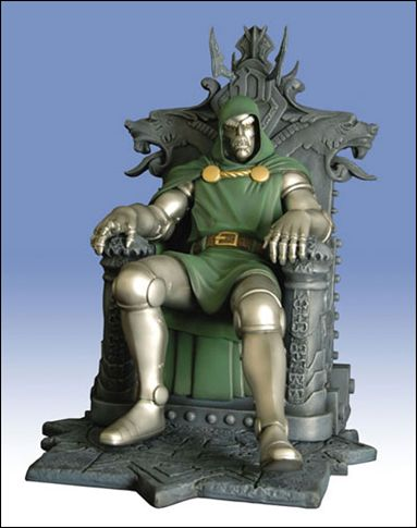 Marvel Milestones Doctor Doom 1/2500 by Diamond Select