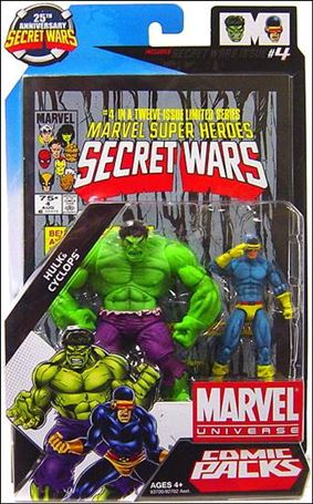 Marvel Universe: Secret Wars (Comic-Packs) Hulk and Cyclops