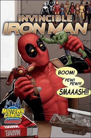 Invincible Iron Man (2015)  1-YC