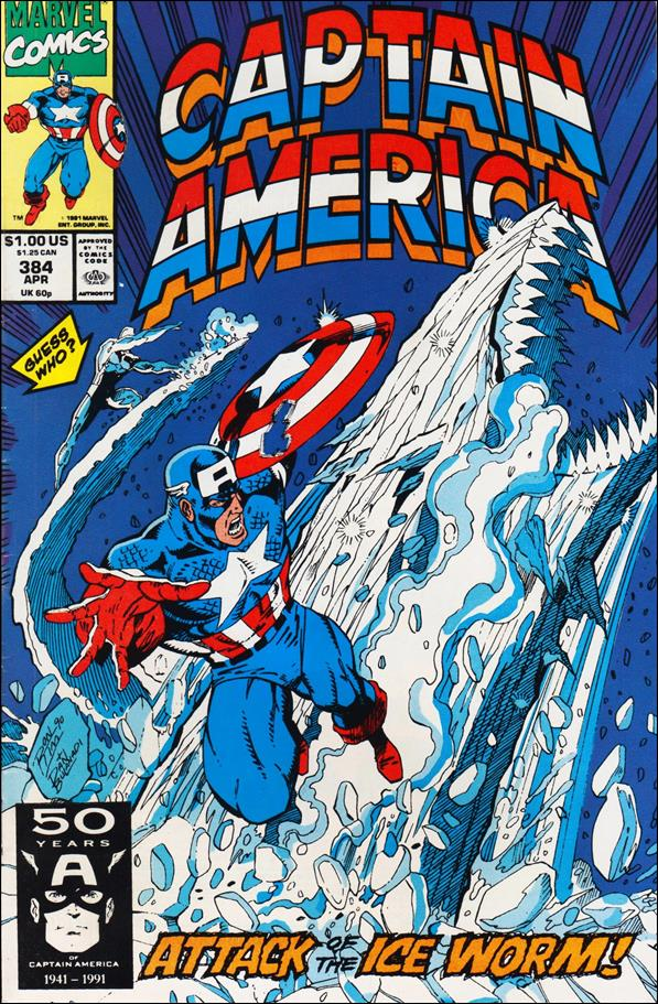 Captain America (1968) 384-A by Marvel