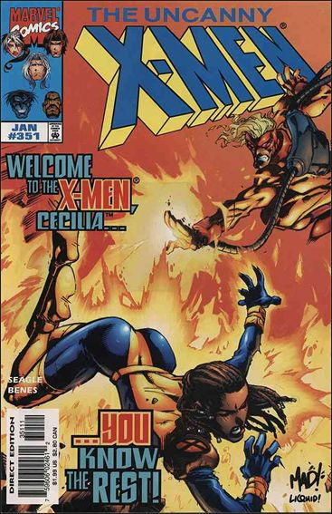 Uncanny X-Men (1981) 351-A by Marvel