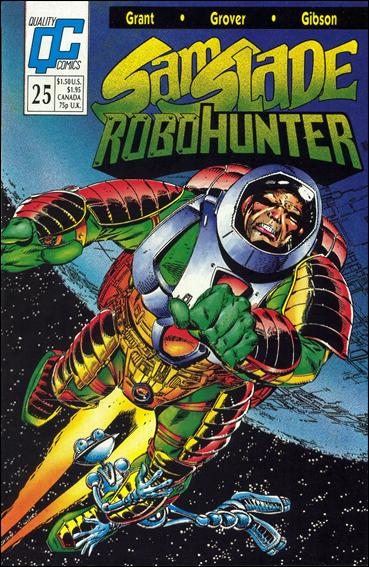 Sam Slade Robo Hunter 25-A by Quality Comics