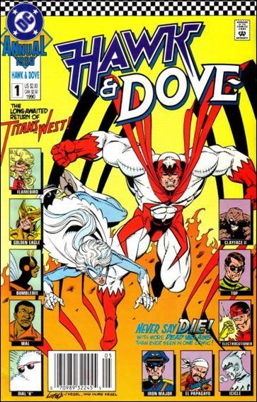 Hawk and Dove Annual 1-A by DC