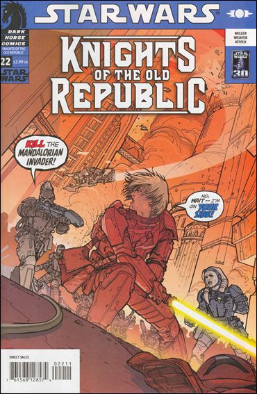 Star Wars: Knights of the Old Republic 22-A by Dark Horse