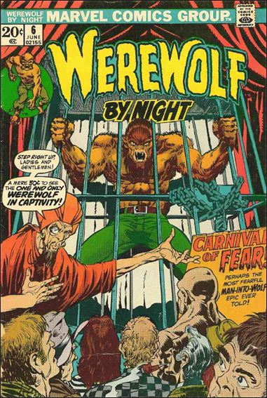 Werewolf by Night (1972) 6-A by Marvel