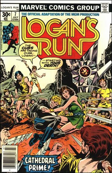 Logan's Run (1977) 7-A by Marvel