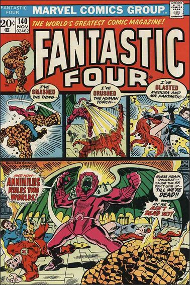 Fantastic Four (1961) 140-A by Marvel