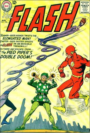 Flash (1959) 138-A by DC