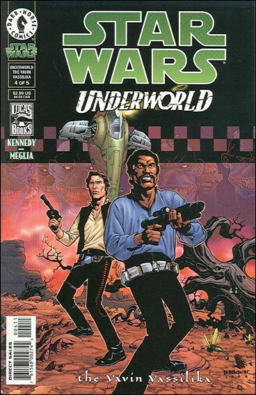 Star Wars: Underworld - The Yavin Vassilika 4-A by Dark Horse