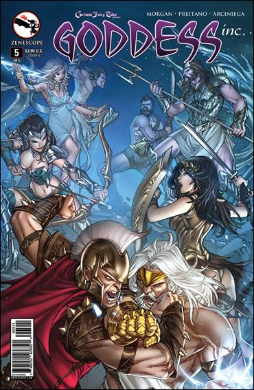Grimm Fairy Tales Presents Goddess Inc. 5-A by Zenescope Entertainment
