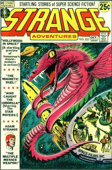 Strange Adventures (1950) 232-A by DC