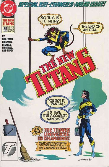 New Titans 89-A by DC