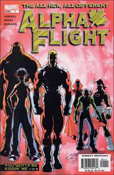 Alpha Flight (2004) 1-A by Marvel