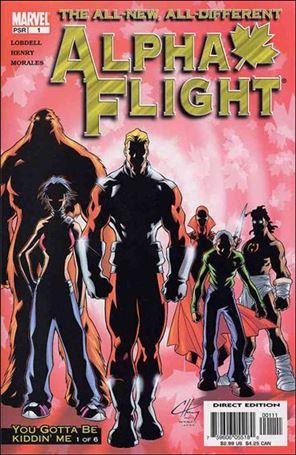 Alpha Flight (2004) 1-A