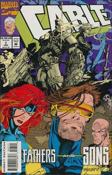 Cable (1993) 7-A by Marvel
