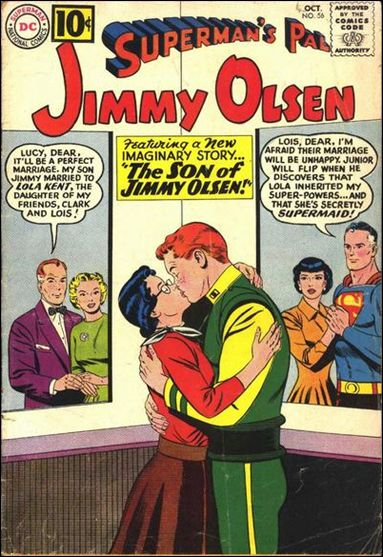 Superman's Pal Jimmy Olsen 56-A by DC