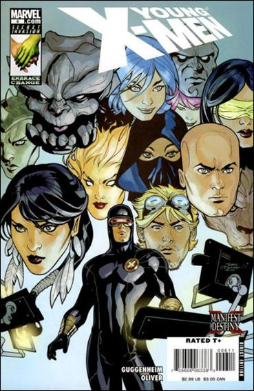Young X-Men 6-A by Marvel