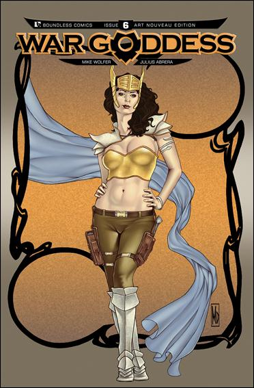 War Goddess 6-D by Boundless Comics