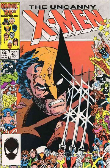 Uncanny X-Men (1981) 211-A by Marvel