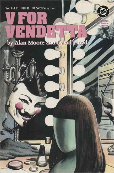 V for Vendetta 1-A by DC