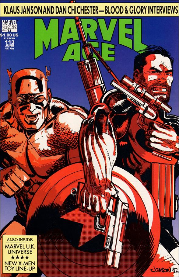 Marvel Age 113-A by Marvel