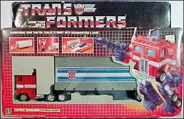 Transformers: More Than Meets the Eye (Generation 1) Optimus Prime (Autobot Leader) by Hasbro