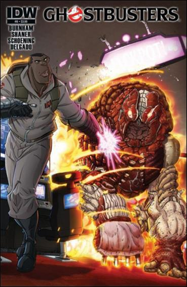 Ghostbusters (2013) 8-A by IDW