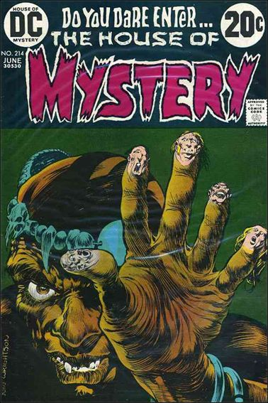 House of Mystery (1951) 214-A by DC