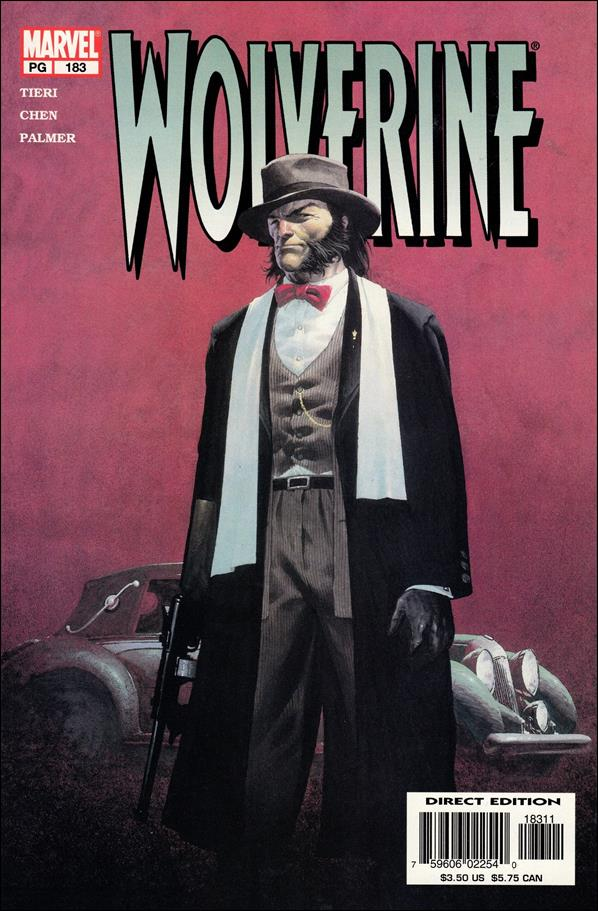 Wolverine (1988)  183-A by Marvel