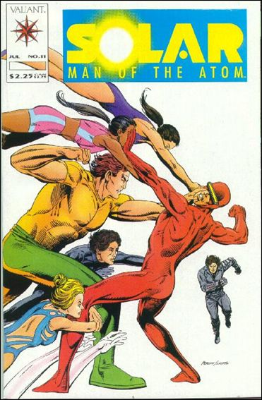 Solar, Man of the Atom (1991) 11-A by Valiant