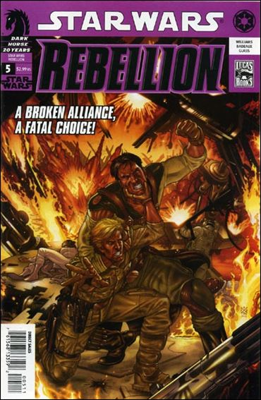 Star Wars: Rebellion 5-A by Dark Horse