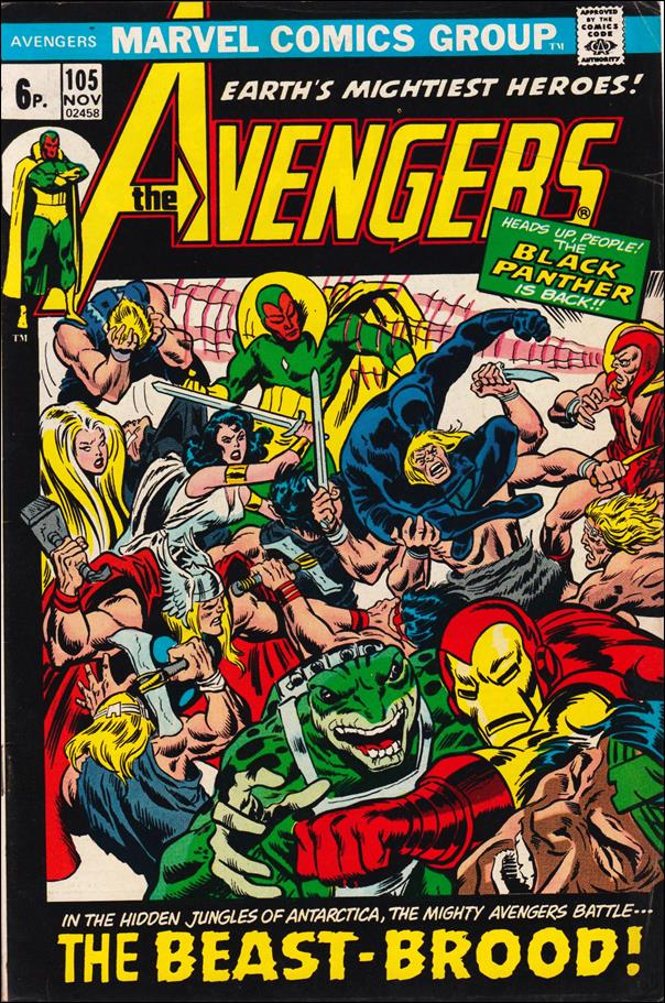 Avengers (1963) 105-B by Marvel