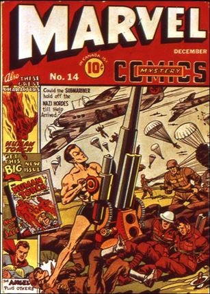 Marvel Mystery Comics (1939) 14-A