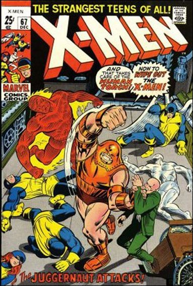 X-Men (1963) 67-A by Marvel