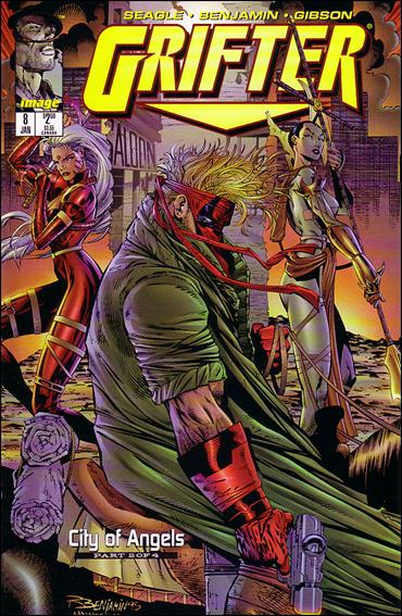 Grifter (1995) 8-A by Image