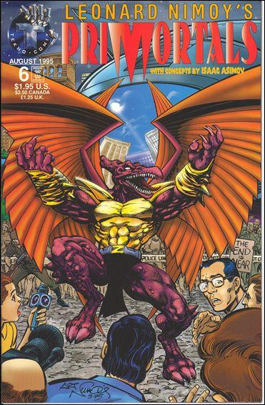 Leonard Nimoy's Primortals (1995) 6-A by Tekno•Comix
