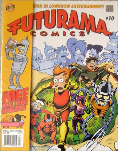 Futurama (UK) 10-A by Titan Magazines
