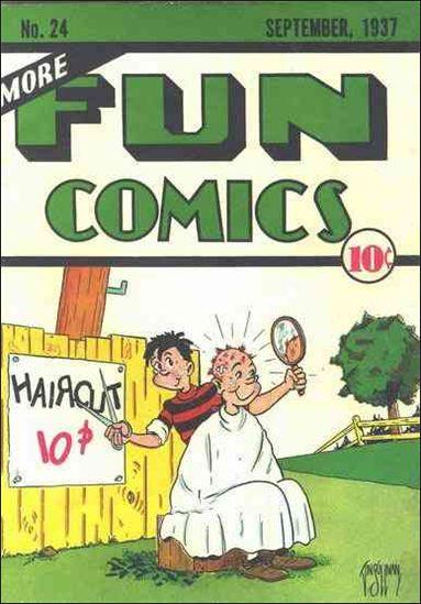 More Fun Comics 24-A by DC