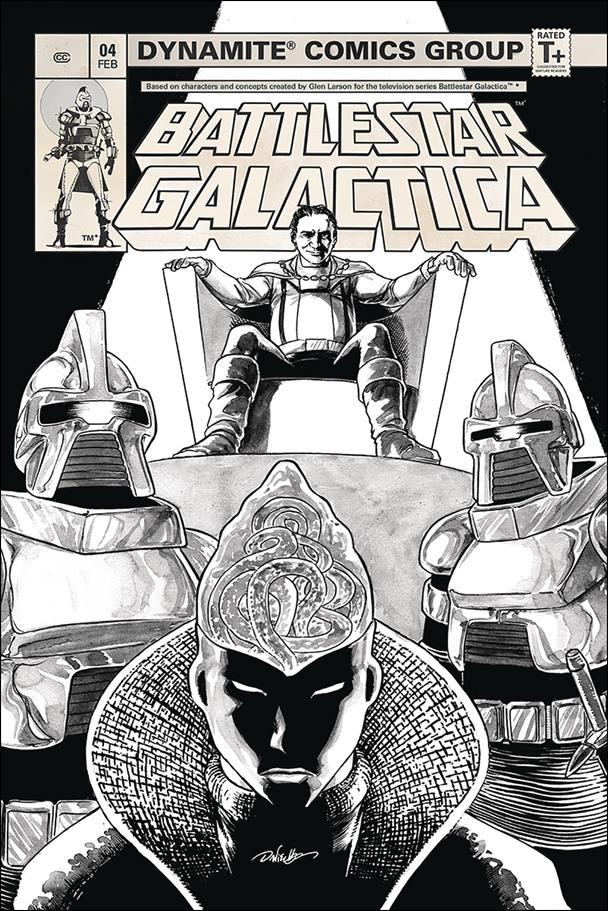 Battlestar Galactica (Classic) (2018) 4-D by Dynamite Entertainment
