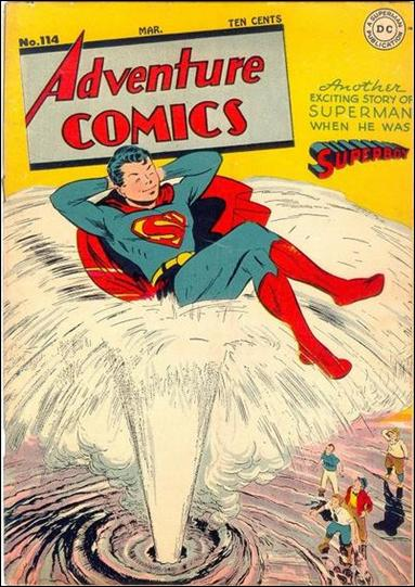 Adventure Comics (1938) 114-A by DC