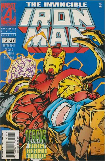 Iron Man (1968) 322-A by Marvel