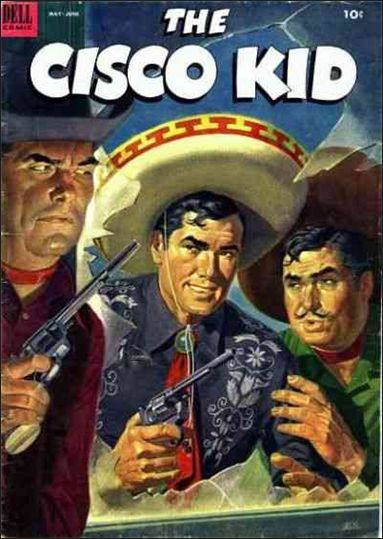 Cisco Kid (1951) 15-A by Dell