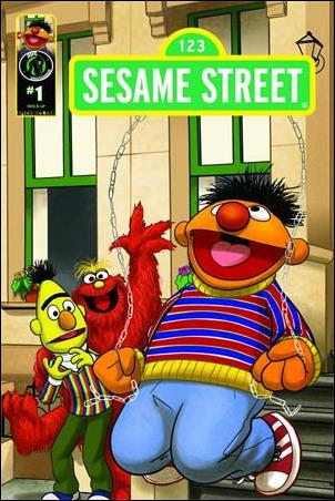 Sesame Street 1-D by Kizoic
