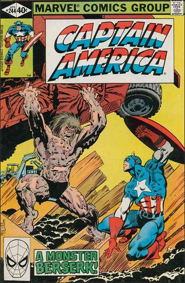 Captain America (1968) 244-A by Marvel