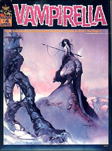 Vampirella 4-A by Warren