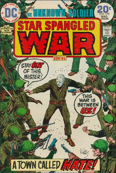 Star Spangled War Stories (1952) 179-A by DC