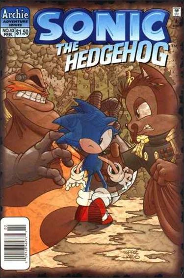 Sonic the Hedgehog (1993) 43-A by Archie