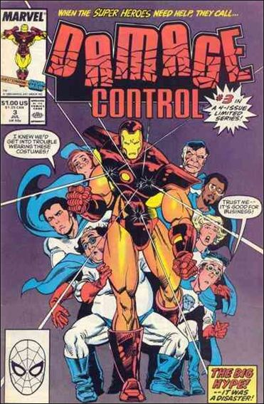 Damage Control (1989/05) 3-A by Marvel