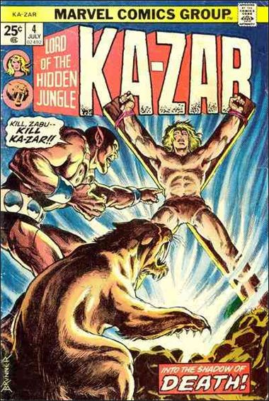 Ka-Zar (1974) 4-A by Marvel