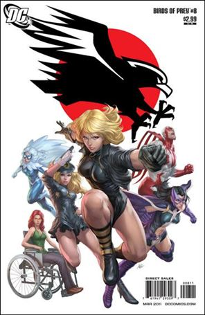 Birds of Prey (2010) 8-A